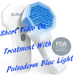 Pulsaderm LED Blue Light Therapy Video