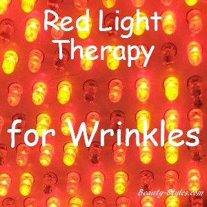 Red Light Therapy For Wrinkles and Fine Lines