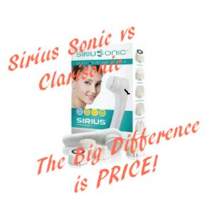 Sirius Sonic Skincare System to Cleanse, Exfoliate, Hydrate, Tone
