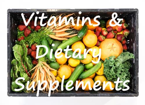Vitamins and Dietary Supplements Information