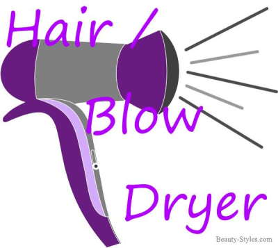 Hair/Blow Dryer for easier hair styling